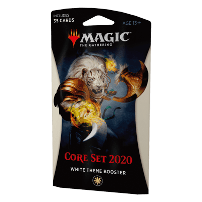Foto van TCG Magic The Gathering White Theme Booster Core 2020 MAGIC THE GATHERING