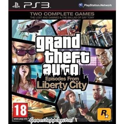 Grand Theft Auto IV & Episodes From Liberty City Complete Edition (Gta) PS3