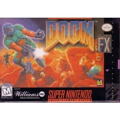 Foto van Doom SNES