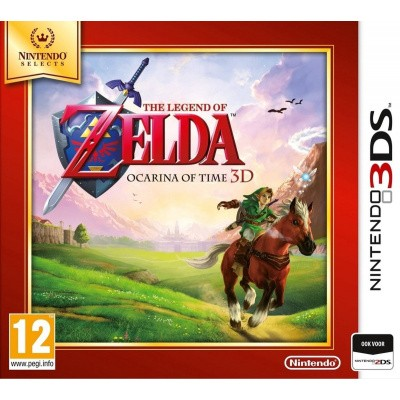 Foto van The Legend Of Zelda Ocarina Of Time 3D (Selects) 3DS