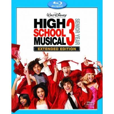 Foto van High School Musical 3 Extended Edition (Blu-Ray + DVD) BLU-RAY