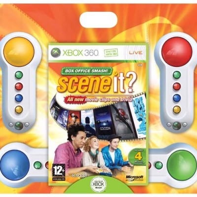 Foto van Scene It Box Office Smash (Incl. Controllers) XBOX 360
