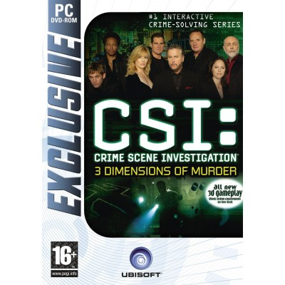 CSI: Crime Scene Investigation: 3 Dimensions Of Murder PC
