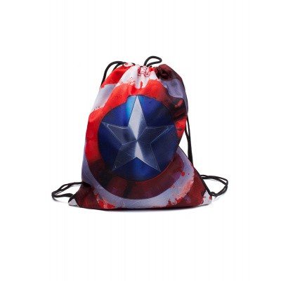 Foto van Marvel - Captain America Gymbag MERCHANDISE