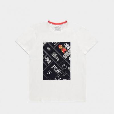 Foto van Nintendo - 8Bit Super Mario Bros Men's T-shirt - L