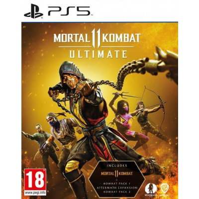 Foto van Mortal Kombat 11 Ultimate PS5