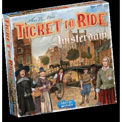 Ticket To Ride Amsterdam BORDSPELLEN