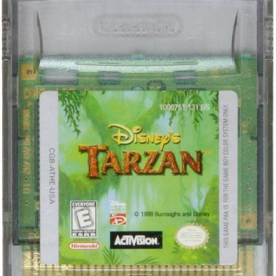 Foto van Tarzan GBC LOSSE GAME