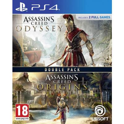 Foto van Assassin's Creed Odyssey + Origins Double Pack PS4