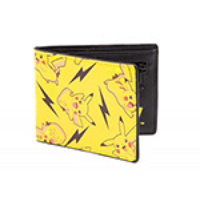 Pokemon - All Over Pikachu Bifold Wallet MERCHANDISE