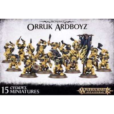 Foto van Ironjawz Orruk Ardboyz Warhammer Age of Sigmar