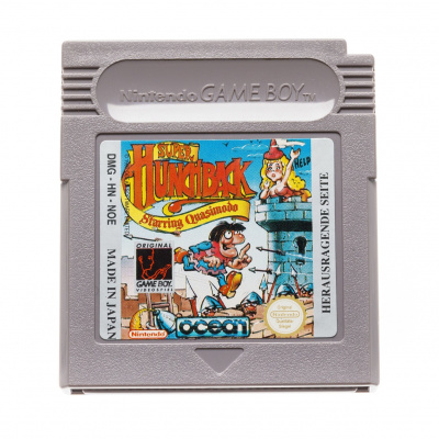 Foto van Super Hunchback Starring Quasimodo (Cartridge Only) GAMEBOY