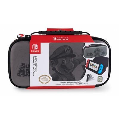 Big Ben, Official Mario Travel Case Nintendo Switch - Grey SWITCH