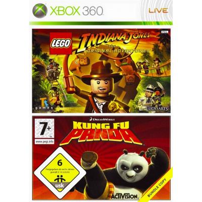 Lego Indiana Jones + Kung Fu Panda XBOX 360