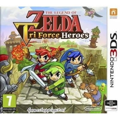 Foto van The Legend Of Zelda Tri Force Heroes 3DS
