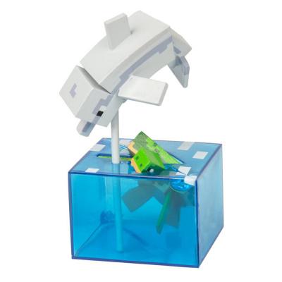 Minecraft: Adventure Figures Series 4 - Dolphin and Turtle MERCHANDISE