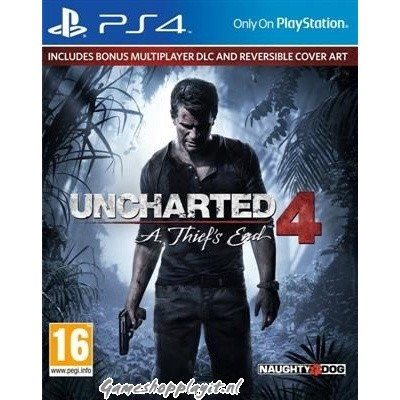 Uncharted 4: A Thief's End Standaard Plus Editie PS4