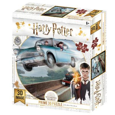 Harry Potter: Ford Anglia Prime 3D puzzle 500pcs PUZZEL