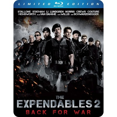 Foto van The Expendables 2 (Steelcase) BLU-RAY