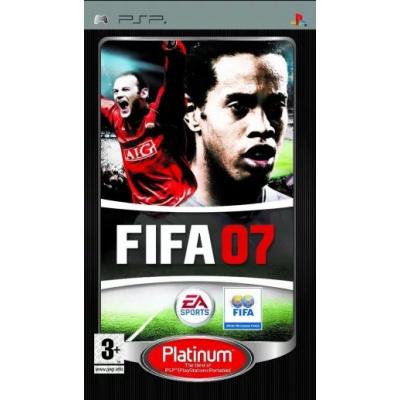 Foto van Fifa 07 (Platinum) PSP