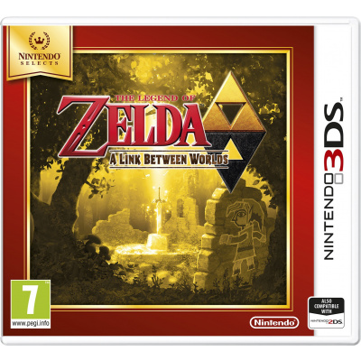 Foto van The Legend of Zelda: A Link Between Worlds (Selects) 3DS