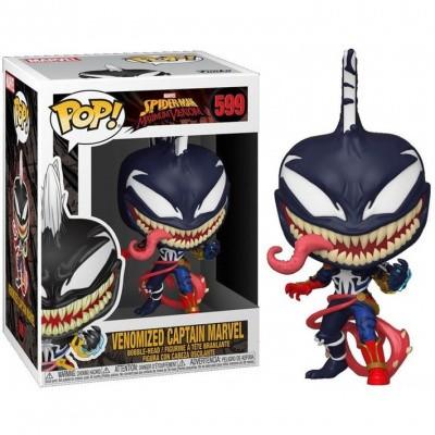 Foto van Pop! Marvel: Spider-Man Maximum Venom - Venomized Captain Marvel FUNKO