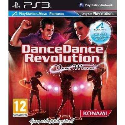 Dance Dance Revolution New Moves (Move Compatible) PS3