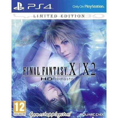 Final Fantasy X/X-2 Hd Remaster Limited Edition PS4