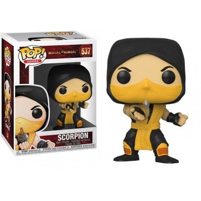 Foto van Pop! Games: Mortal Kombat - Scorpion FUNKO