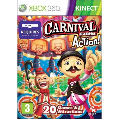 Carnival Games In Beweging (Kinect) XBOX 360