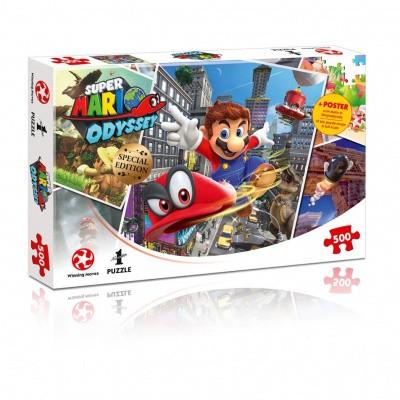 Foto van Super Mario Odyssey World Traveler Puzzle 500pc PUZZLE