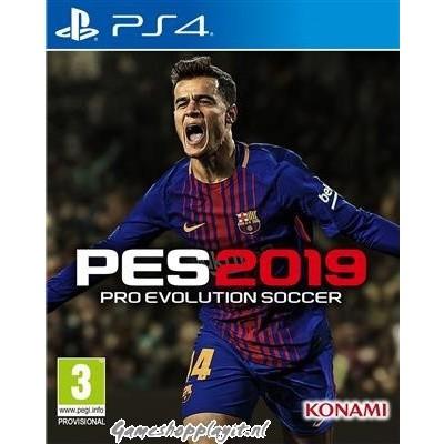 Pro Evolution Soccer 2019 (Pes 2019) PS4