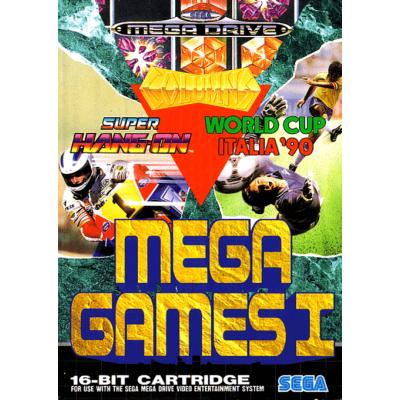 Foto van Mega Games 1 SEGA MEGADRIVE