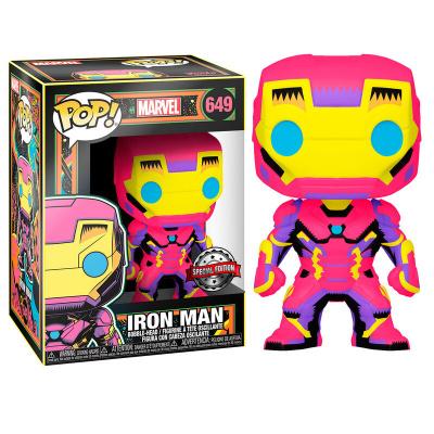 Pop! Marvel: Black Light Iron Man FUNKO