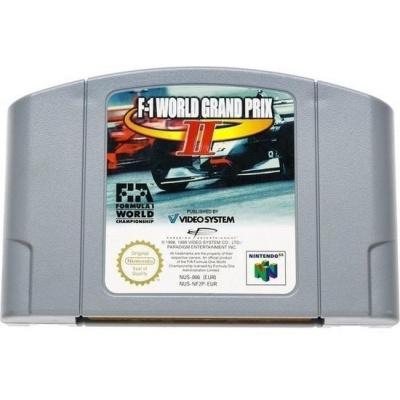 Foto van F-1 World Grand Prix II (Cartridge only) N64