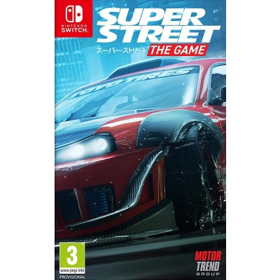 Foto van Super Street: The Game Nintendo Switch