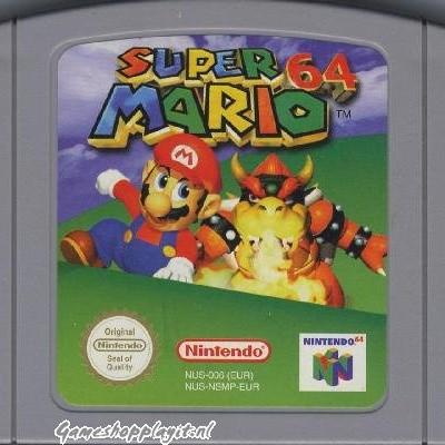 Foto van Super Mario 64 (Losse Cassette) N64
