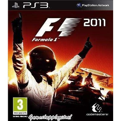 F1 2011 Formula 1 PS3