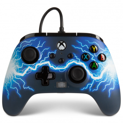 Foto van PowerA Enhanced Wired Controller for Xbox Series X/S (Arc Lightning) XBOX ONE