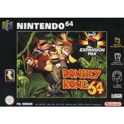 Foto van Donkey Kong 64 (Zonder Manual en Expansion Pack) N64