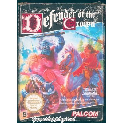 Foto van Defender Of The Crown (Losse Cassette) NES