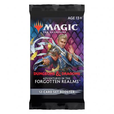 Foto van TCG Magic The Gathering D&D Forgotten Realms Set Booster Pack MAGIC THE GATHERING