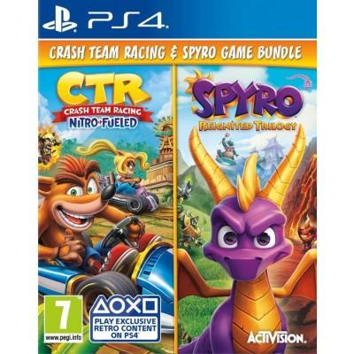 Foto van Crash Team Racing Nitro Fueled + Spyro: Reignited Trilogy PS4