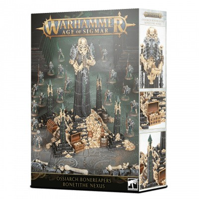 Foto van Ossiarch Bonereapers: Bone-tithe Nexus Warhammer Age Of Sigmar