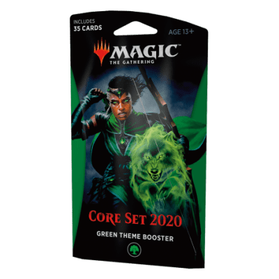 TCG Magic The Gathering Green Theme Booster Core 2020 MAGIC THE GATHERING