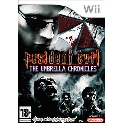 Resident Evil Umbrella Chronicles WII