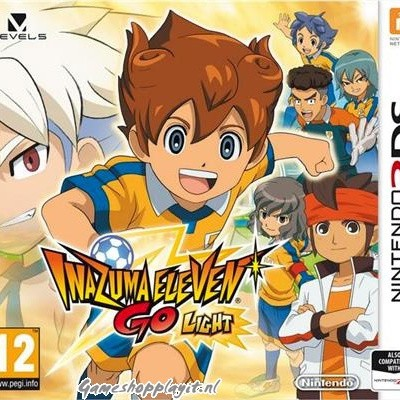 Foto van Inazuma Eleven Go: Light 3DS