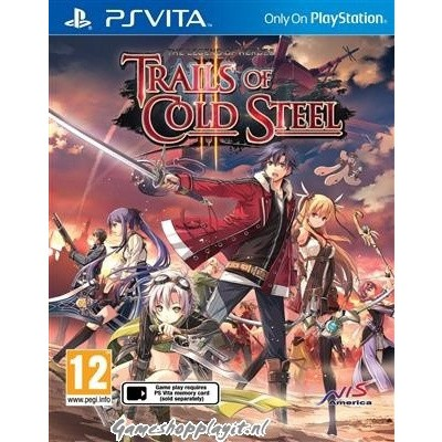 Foto van The Legend Of Heroes: Trials Of Cold Steel II PSVITA