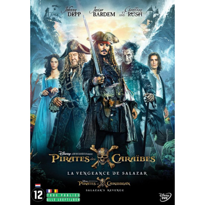 Foto van Pirates Of The Caribbean 5 Salazar's Revenge DVD