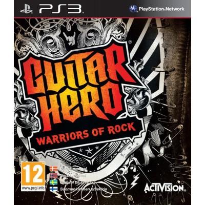 Guitar Hero Warriors Of Rock (Game Only) PS3